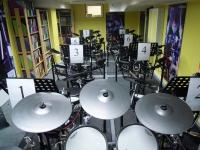 Bild V-Drums Unterrichtsraum
