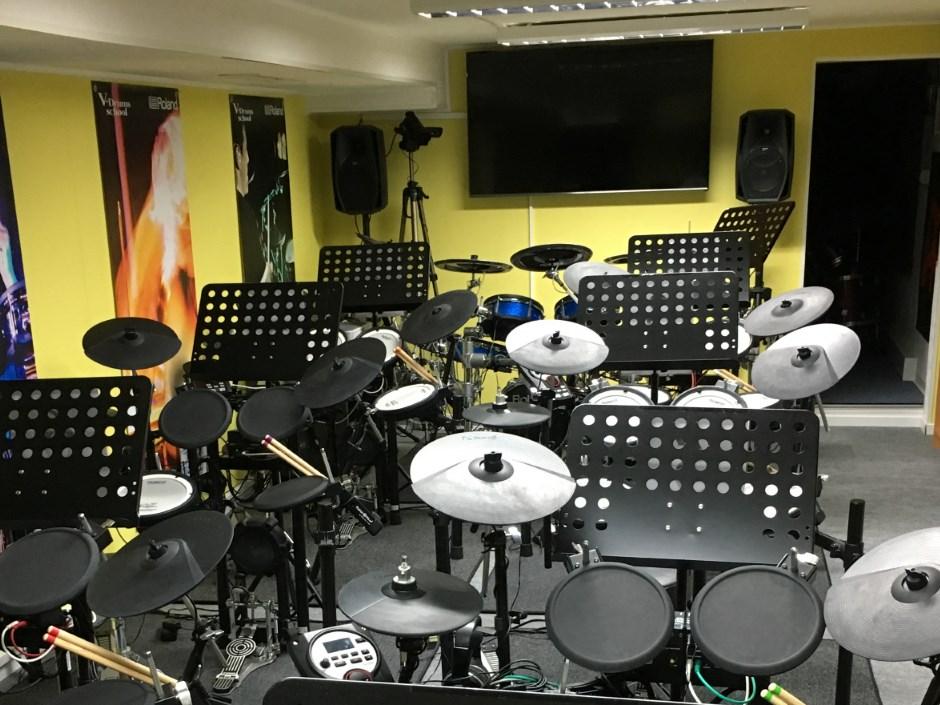 klimatisiertes Drum-Lab