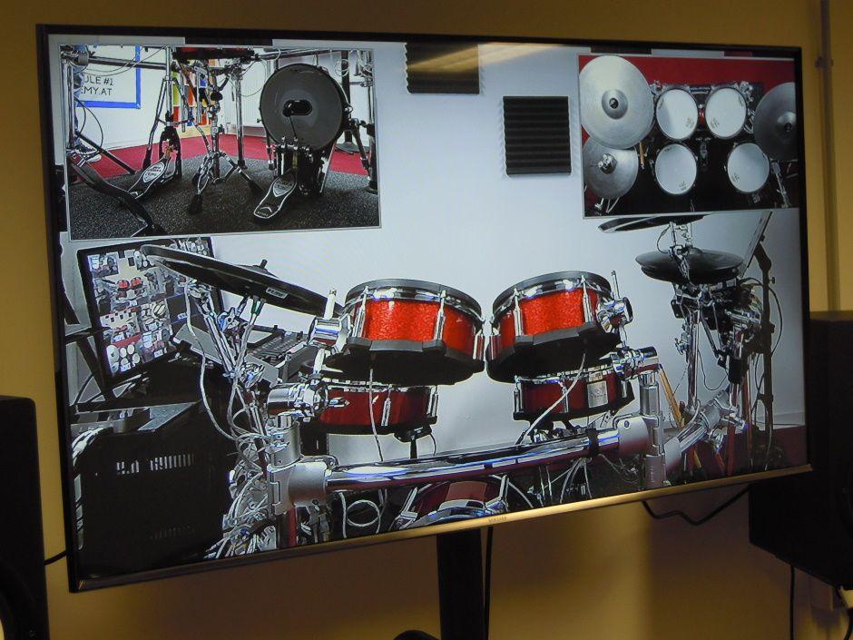 Online-Schlagzeug-Unterrichtsraum 3