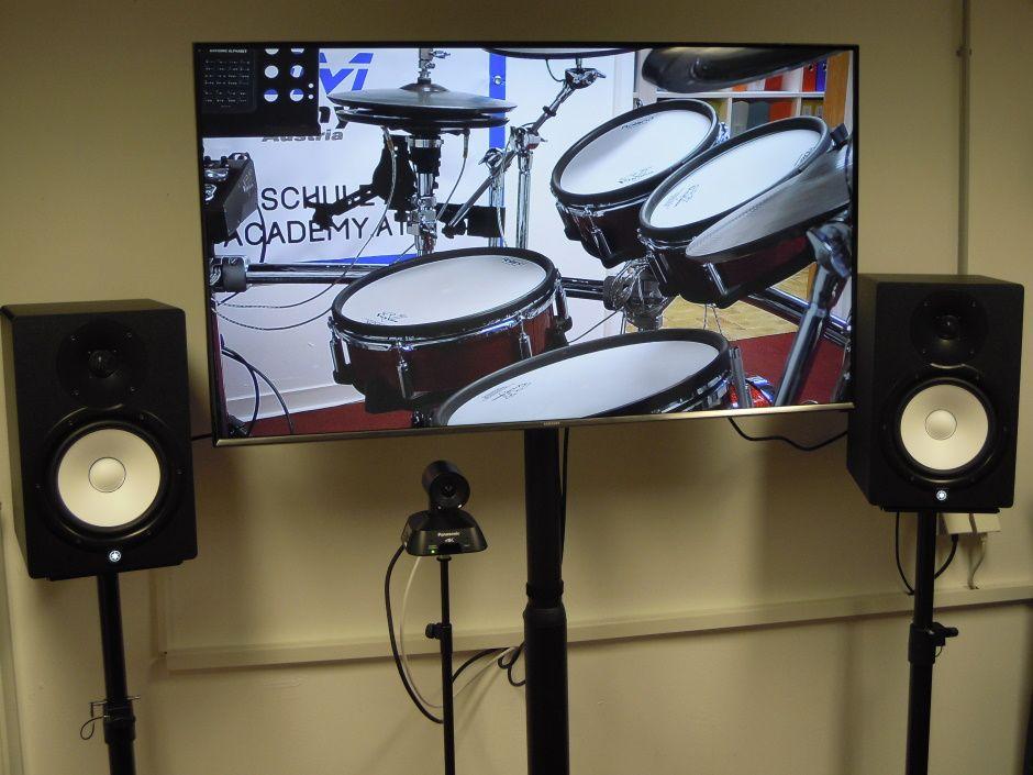 Online-Schlagzeug-Unterrichtsraum 4