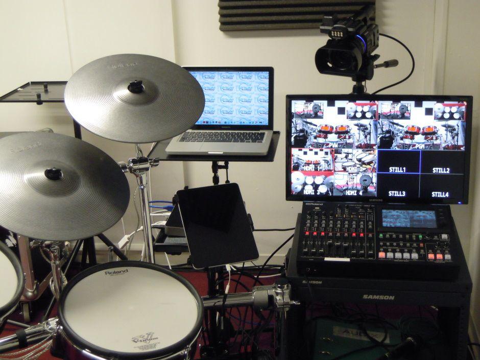 Online-Schlagzeug-Unterrichtsraum 5